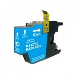 BROTHER Kompatibilis LC1240 / LC1220 Cyan utángyártott tintapatron